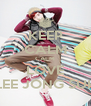 KEEP CALM CALM LOVE LEE JONG SUK - Personalised Poster A4 size