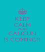 KEEP CALM CAUSE CANCUN IS COMING!! - Personalised Poster A4 size