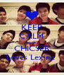 KEEP CALM cause  CHICSER Loves Lexine  - Personalised Poster A4 size