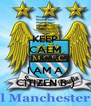 KEEP CALM Cause I AM A CITIZEN B-) - Personalised Poster A4 size