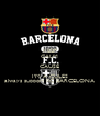 KEEP CALM CAUSE I'M A CULES always support FC BARCELONA - Personalised Poster A4 size