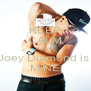 KEEP CALM Cause  Joey Diamond is  MINE - Personalised Poster A4 size