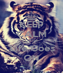 KEEP CALM Cause  Life Goes ON - Personalised Poster A4 size