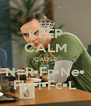 KEEP CALM 'CAUSE N=R•Fp•Ne• Fl•Fi•Fc•L - Personalised Poster A4 size