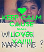 KEEP CALM CAUSE' NIALL LOVES YA!!!!! - Personalised Poster A4 size