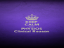 KEEP CALM cause PHYSIOS Clinical Reason - Personalised Poster A4 size
