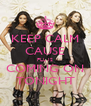 KEEP CALM CAUSE PLL IS COMING ON TONIGHT - Personalised Poster A4 size
