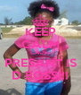 KEEP CALM CAUSE PRESANT IS D BOSS!!! - Personalised Poster A4 size
