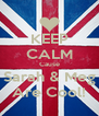 KEEP CALM Cause Sarah & Meg Are Cool! - Personalised Poster A4 size