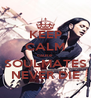 KEEP CALM cause SOULMATES NEVER DIE - Personalised Poster A4 size