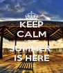 KEEP CALM cause  SUMMER  IS HERE - Personalised Poster A4 size