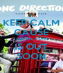 KEEP CALM CAUSE TAKE ME HOME IS OUT SOON - Personalised Poster A4 size