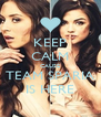 KEEP CALM CAUSE TEAM SPARIA IS HERE - Personalised Poster A4 size
