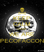 KEEP CALM CAUSE WE ARE SPECOFACCONE - Personalised Poster A4 size