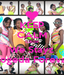 KEEP CALM Cause We Stayz Togeda Foreva! - Personalised Poster A4 size