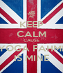 KEEP CALM CAUSE YOGA FAHMI IS MINE - Personalised Poster A4 size