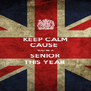 KEEP CALM CAUSE  YOU'RE A SENIOR THIS YEAR  - Personalised Poster A4 size