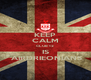 KEEP CALM CLUB 12 IS  AIRDRIEONIANS - Personalised Poster A4 size