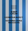 KEEP CALM COMPLICADO? SOARES DIAS RESOLVE - Personalised Poster A4 size