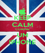 KEEP CALM COMPRE UM IPHONE - Personalised Poster A4 size