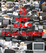 KEEP CALM  CONSUMERIST  - Personalised Poster A4 size