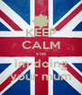 KEEP CALM cos im doing your mum - Personalised Poster A4 size