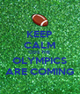 KEEP CALM 'COS THE OLYMPICS ARE COMING - Personalised Poster A4 size