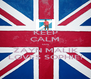 KEEP CALM cos ZAYN MALIK LOVES SOPHIE! - Personalised Poster A4 size