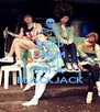 KEEP CALM COZ' I'M A BLACKJACK - Personalised Poster A4 size