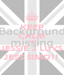KEEP CALM COZ JESSIE J LUVS JESS SIMO!! - Personalised Poster A4 size