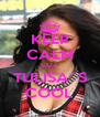 KEEP CALM COZ TULISA`S COOL - Personalised Poster A4 size