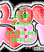 KEEP CALM COZ YOUR MY BFFL!!! - Personalised Poster A4 size