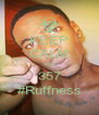 KEEP CALM cuz 357 #Ruffness - Personalised Poster A4 size