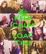 KEEP CALM CUZ I LOAF CHU - Personalised Poster A4 size