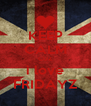 KEEP CALM CUZ i love FRIDAYZ - Personalised Poster A4 size