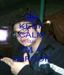 KEEP CALM CUZ I'M A DAFOOR - Personalised Poster A4 size