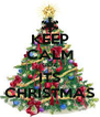 KEEP CALM CUZ ITS CHRISTMAS - Personalised Poster A4 size