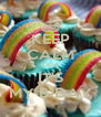 KEEP CALM CUZ IT'S MY B-DAY - Personalised Poster A4 size