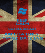 KEEP CALM CUZ MA DREADZ AIN'T DA ONLY  THINGZ DATZ LNG - Personalised Poster A4 size