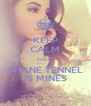 KEEP CALM CUZ  SHANE TENNEL IS MINES - Personalised Poster A4 size