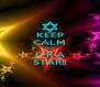 KEEP CALM CUZ U R A STAR!! - Personalised Poster A4 size