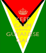 KEEP CALM & DATE a  GUYANESE  GAL - Personalised Poster A4 size
