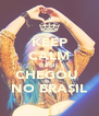KEEP CALM DEMI  CHEGOU  NO BRASIL - Personalised Poster A4 size