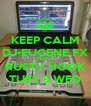 KEEP CALM DJ-EUGENE FX IS NOW AT RUSTY HOOK TUES & WED - Personalised Poster A4 size