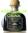 KEEP CALM DRINK    - Personalised Poster A4 size