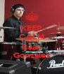 KEEP CALM drummer Isaac Gonzalez - Personalised Poster A4 size