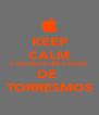 KEEP CALM E ESCACHA UM PACOTE DE  TORRESMOS - Personalised Poster A4 size