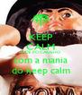 KEEP CALM E IDE PÓ CARALHO com a mania do keep calm - Personalised Poster A4 size