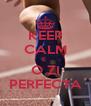 KEEP CALM E  O ZI PERFECTA - Personalised Poster A4 size