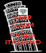 KEEP CALM E PARLA ITALIANO - Personalised Poster A4 size